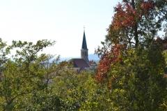 Aussicht Kirche